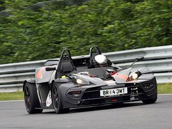 KTM X-Bow на Нюрбургринге оказался быстрее суперкаров Ferrari
