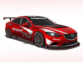 Дизельную Mazda6 подготовят для гонок на выносливоть