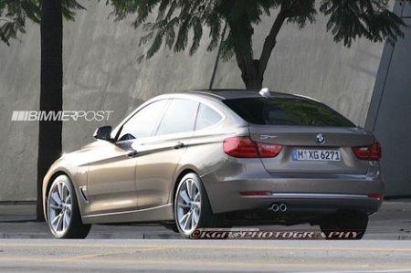 Фотошпионы рассекретили внешность хэтчбека BMW 3-Series
