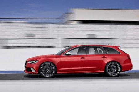 """Универсал Audi RS6 сменил мотор V10 на твин-турбо """"восьмерку"""""""