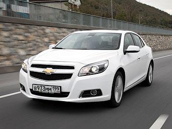 Chevrolet обновит Malibu раньше срока