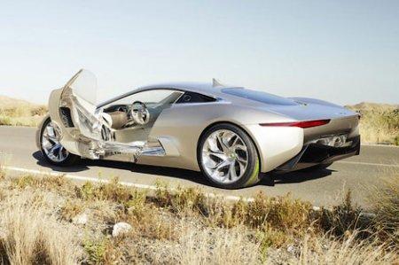 Появление гибридного суперкара Jaguar C-X75 оказалось под угрозой