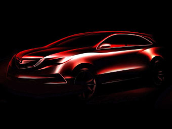 Acura подготовит к Детройту концепт нового кроссовера
