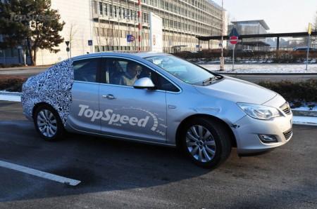 Opel выпустит новый седан Opel Astra