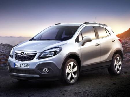 Опубликованы официальные фотографии нового Opel Mokka