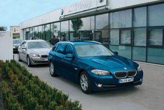 Тест-драйв новой BMW 5-й серии