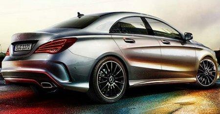 Появились первые изображения седана Mercedes-Benz CLA