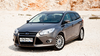Тест-драйв Ford Focus Wagon