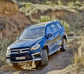Тест-драйв Mercedes GL