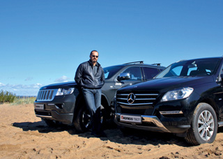 Тест-драйв Mercedes ML, Jeep Grand Cherokee