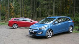 Тест-драйв Hyundai i30, Hyundai i40
