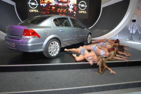 Описание нового авто Opel Astra Sedan