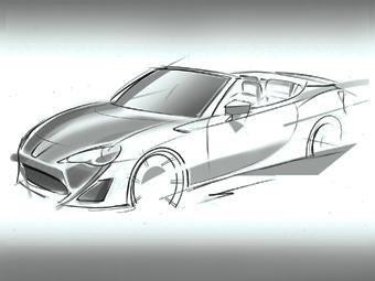 Родстер Toyota GT 86 будет показан в Женеве