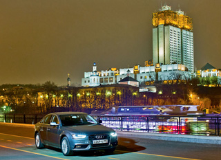 Тест-драйв BMW 320d, Audi A4, Volvo S60
