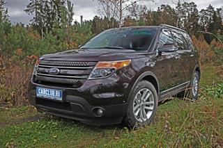 Тест-драйв Ford Explorer