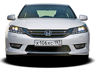 Тест-драйв Honda Accord