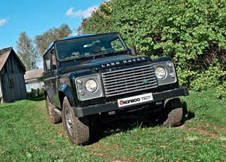 Тест-драйв Land Rover Defender 90