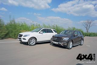 Тест-драйв Mercedes ML